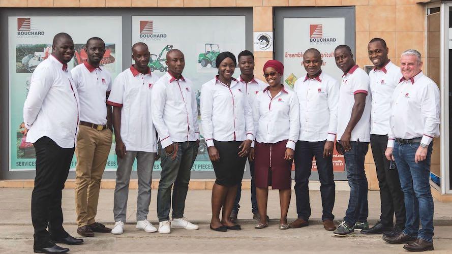 Equipe Bouchard Cote d'Ivoire